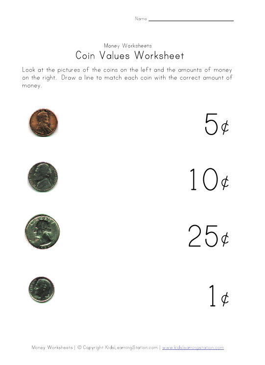 Printables Coin Value Worksheets coin values worksheet abitlikethis worksheet